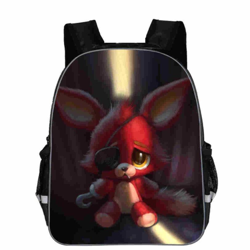 Freddy Backpack Animal Anime FNAF Chica Foxy Undertale Sans Casual School Bags Toddlers Boys Girls Teenager Mochila Gift Bolsa