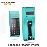 Android PDA Handhled Receipt Sticker Printer POS Terminal 58mm Thermal Label Printer Bluetooth NFC 3G FRFE SDK Data Collector