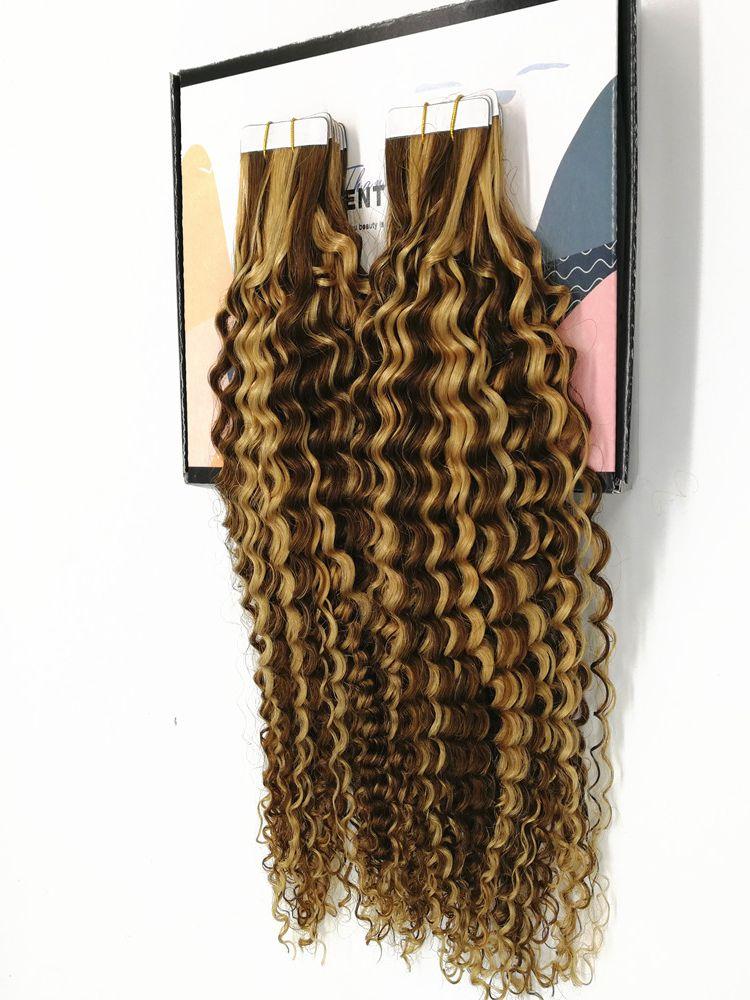 Kayla лента для наращивания волос кудрявый вьющиеся волосы 14 дюймов на ленте, натуральные пряди Remy на клипсах из натуральных волос на кружевной Мягкие Бесшовные волос 2,5 г/шт. 50 г/20 шт. Пряди волос на лентах      АлиЭкспресс