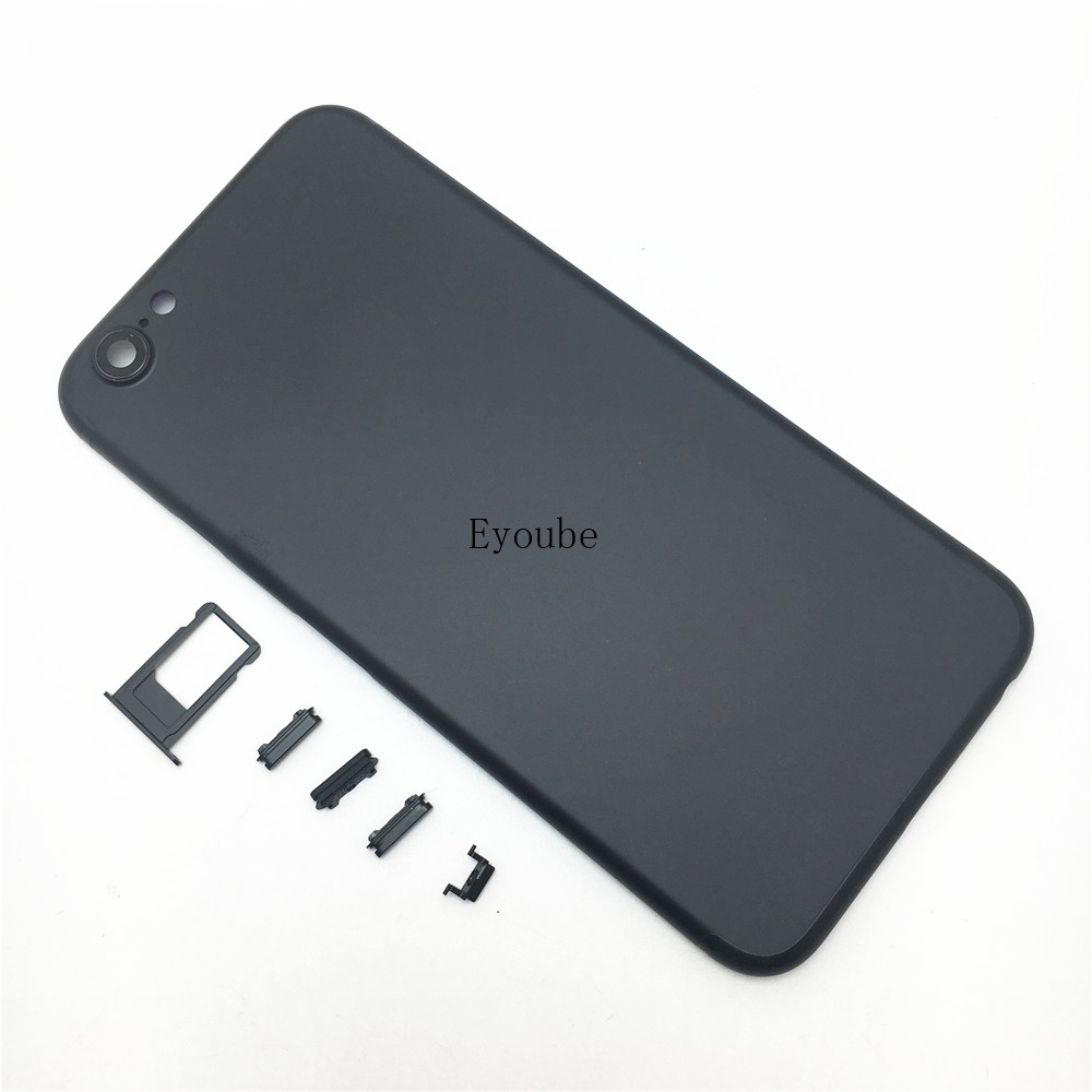 7G Style 7 Mini Black Aluminum Metal Back Housing Replacement For IPhone 5s SE With Logo AnD Accessories