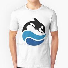 Vintage seaworld logotipo t camisa 100% puro algodão logotipo assassino baleia orca seaworld vintage 90s 80s 70s golfinho baleia shamu zoo