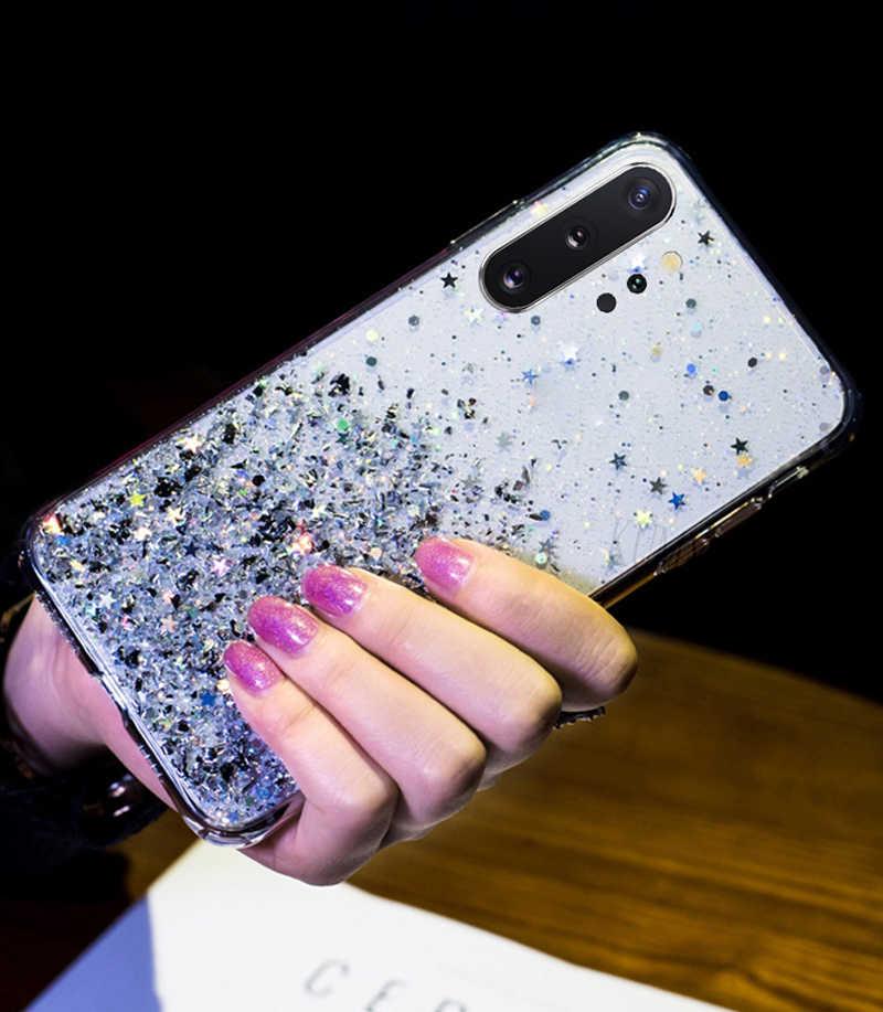 Cao Cấp Lấp Lánh Sao Ốp Lưng Dành Cho Samsung Galaxy Samsung Galaxy A70 A50 A10 A20 A30 A60 A80 A90 A20S A10S A20E Note 10 9 8 S10 S9 S8 Plus S10E Bao