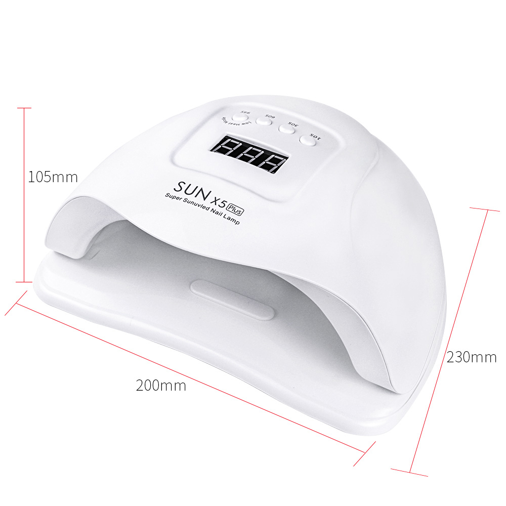 SUN X 5 Plus 54 36W LED Lamp Nail Dryer 36 LEDs UV Ice Lamp For Drying Gel Polish 10 30 60 99s Timer Auto Sensor Manicure Tools in Nail Dryers from Beauty Health