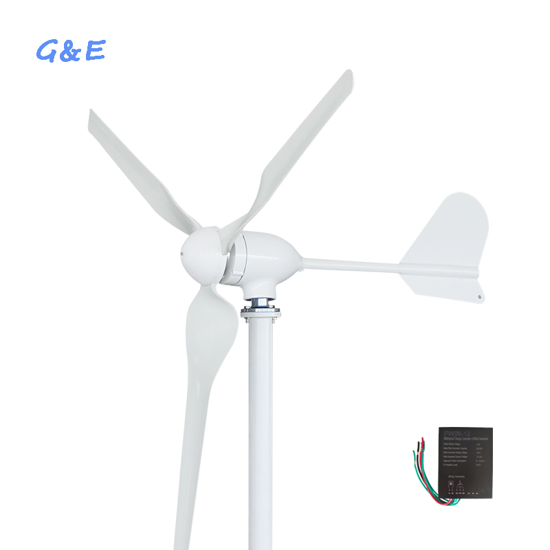 12v 24v 48v wind turbine new energy 600w wind generator with DC controller