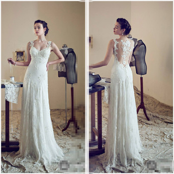New Designer Couture Sheer Cap Sleeve Lace vestido de noiva 2018 Sheath Court Train bridal Gown mother of the bride dresses vestido de noiva longo amazon 2018 v neck half sleeves a line chapel train lace tulle bridal gown mother of the bride dresses