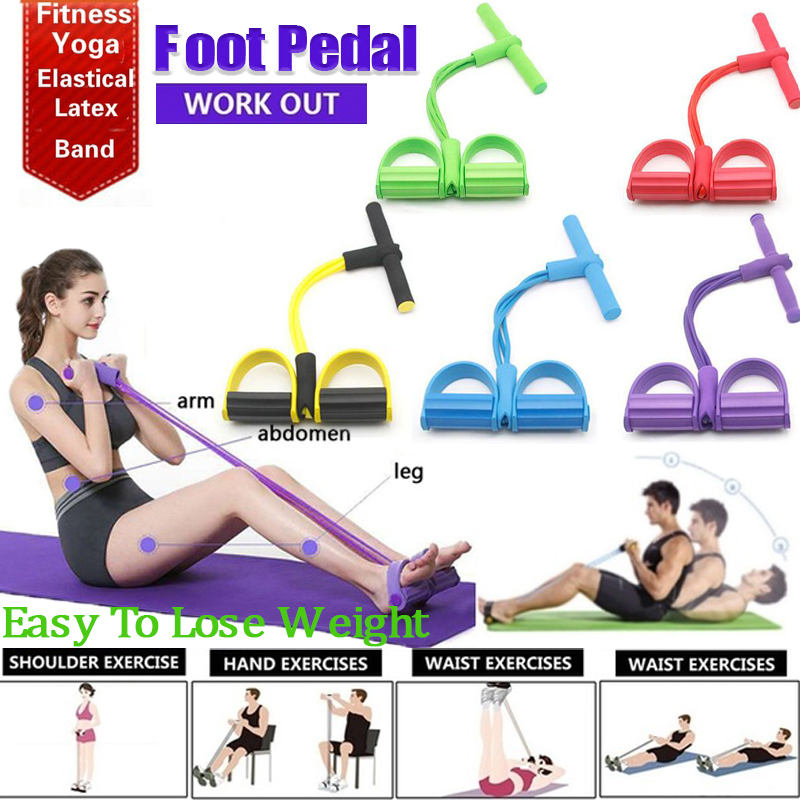 Four-tube Pedal Pedal Pull-ups Sit-ups Abdominal Abdomen Male And Female Multifunctional Fitness Equipment