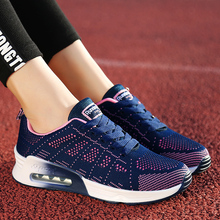 Mesh Breathable Shoes Women Runnings Shoes Air Sole Sneakers Women Casual Sport Shoes Outdoor Lace Up Ladies Shoes Walking women sneakers breathable outdoor walking shoes woman mesh casual shoes white lace up ladies shoes 2019 fashion female sneakers