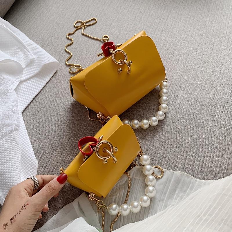 French Small Group Bag Women 2020 New Fashion Korean Version Versatile Messenger Bag Chain Air Bag Small Bag
