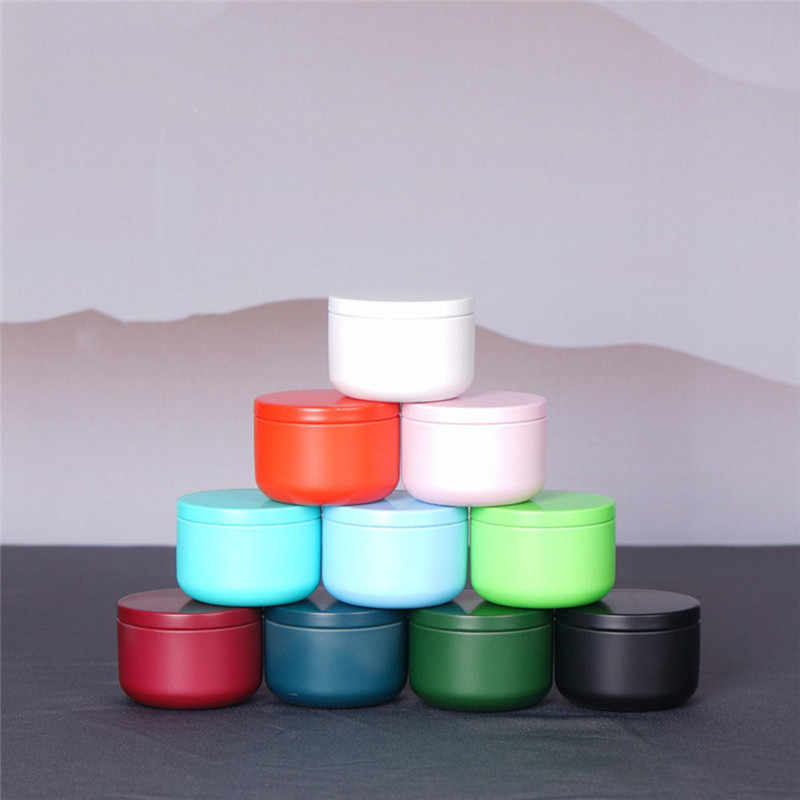 53 *37mm Mini Tea Box Portable Travel Tinplate Storage Boxes Home Kitchen Candies Tea Coffee Sealed Containers Organizer