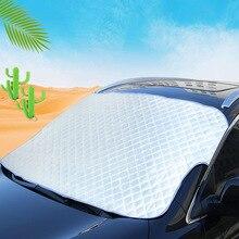 Лобовое стекло автомобиля солнцезащитный козырек лето толстый Солнцезащитный козырек Солнцезащитный изолированный Переднее стекло крышка Солнцезащитный блок Снежный щит на