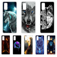 Animal Wolf Soft Popular Phone Case cover hull For SamSung Galaxy S 6 7 8 9 10 20 Plus Edge E 5G Lite Ultra transparent shell(China)