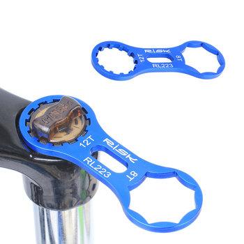 Ryzyko aluminium widelec rowerowy Repair Tool dla SR Suntour XCR XCT XCM RST MTB rower przedni widelec Cap klucz demontaż narzędzia tanie i dobre opinie RISK 24-28 cali Z aluminium CN (pochodzenie) Widelec ze sprężyną olejową (wytrzymała sprężyna tłumienie olejowe)