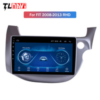 Android 8.1 10.1 for HONDA FIT JAZZ 2007 2013 Right Hand Drive Car Head Unit Player GPS Navigation Radio WiFi