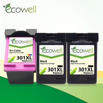 ECOWELL replacement for hp 301 hp301 301xl ink cartridge for hp Deskjet 2050 1000 1050 2510 3054 Envy 4500 4504 5530 printer цена 2017