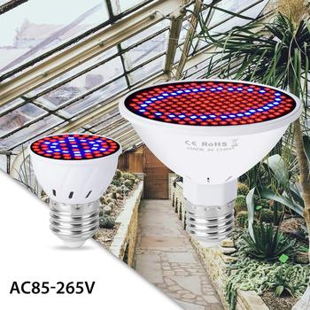 цена на 6W 15W 20W E27 Full Spectrum LED Grow Light 220V Fitolampy Phyto Lamp For Plant Indoor Flower Seed Hydroponic Tent Grow Lamp