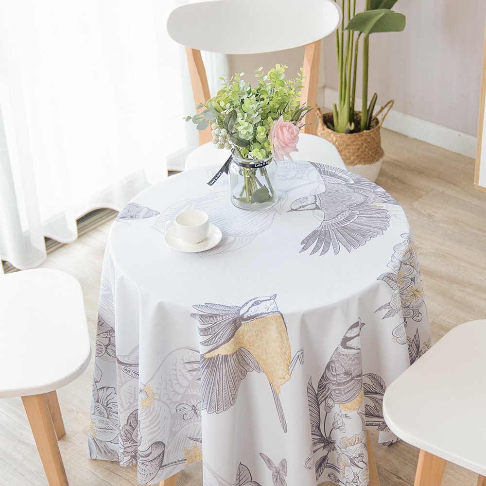 PVC שולחן בד עמיד למים מטבח שולחן כיסוי משובץ מפת שולחן מלבני תוספות סגנון אביזרי שולחן רך תמיכה מותאם אישית גודל