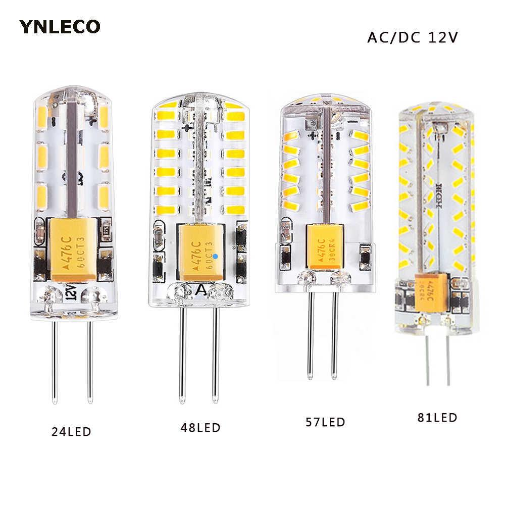 G4 LED Light Lamp 3W Equivalent to 20W ~ 25W AC//DC 12V T3 Halogen Bulb lot
