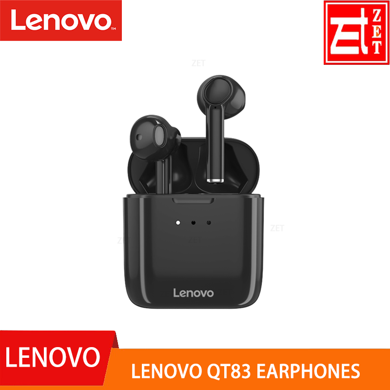 ORIGINAL Lenovo QT83 Earphones Bluetooth 5 0 TWS Wireless Headset With Microphone Sports Water Proof Headsets