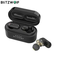 [ Dual Dynamic Driver ] Blitzwolf BW FYE7 TWS bluetooth 5.0 In ear Earphone Bass Stereo Bilateral Call Earbuds True Wireless Earphones Best Music Headset Headphones Handsfree with Charging Box