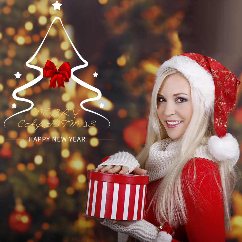 2019 Fashion Santa Hat Winter Warm Christmas High-grade Plush Adult Hat To Increase Thickening Big Ball Soft Plush Christmas Ha