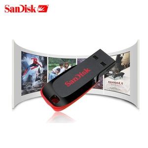 Image 5 - Echte SanDisk Cruzer Fit CZ50 USB Stick 128GB 64GB 32GB USB 2,0 pen drive memory stick mini Stift Sticks 16GB 8GB U disk