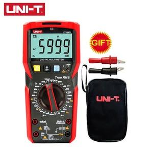 Digital Multimeter Tester Uni t UT89XD Multimetre True RMS AC DC Voltmeter Ammeter Capacitance Frequency Resistance Volt Meter(China)