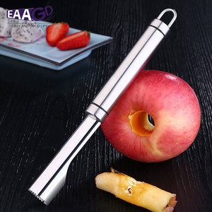 Stainless Steel Fruit Pitter Separator Peach Core Seed Remover Apple Pear Core Twister Kitchen Peeler Trench Tools(China)