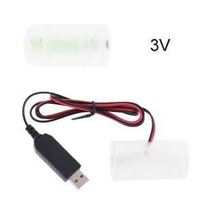 Image 3 - D Batterij Eliminator Usb Voeding Kabel Kan Vervangen 1 Tot 4 Stuks LR20 D Batterij