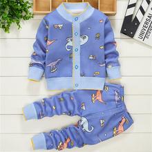 Zestawy ubrań dla niemowląt jesienne ubrania dla niemowląt ubrania dla niemowląt bawełniane ubrania dla dziewczynek bielizna stroje dla dzieci ubrania одежда для ново tanie tanio LINGAO COTTON Damsko-męskie 7-12m 13-24m 25-36m moda CN (pochodzenie) CZTERY PORY ROKU Z okrągłym kołnierzykiem Pulower