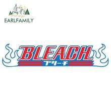 EARLFAMILY 13cm x 2.9cm dla Bleach Logo dusza Reaper Lchigo naklejka do pokoju dziecęcego Vinyl naklejki samochodowe nadaje się do wszystkich typów pojazdów