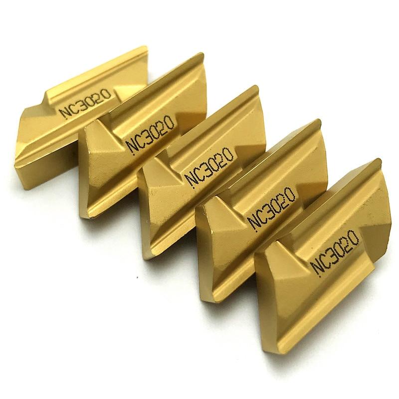 KNUX160405R NC3020 Carbide Insert Turning Tool KNUX 160405R Insert Turning Cutting Tool Steel Processing Milling Inserts