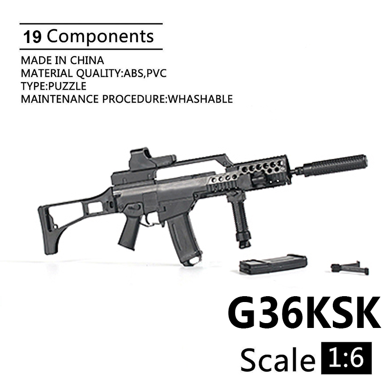 1:6 G36KSK Assault Rifle Armour Model