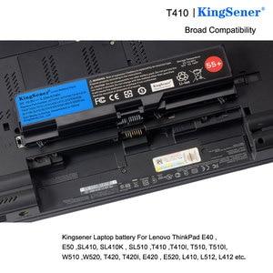 Image 5 - KingSener Laptop battery for ThinkPad L512 L412 L520 E425 E520 E525 W520 T410 T420 T510 T520 42T4751 42T4752 42T4885 42T4886 55+