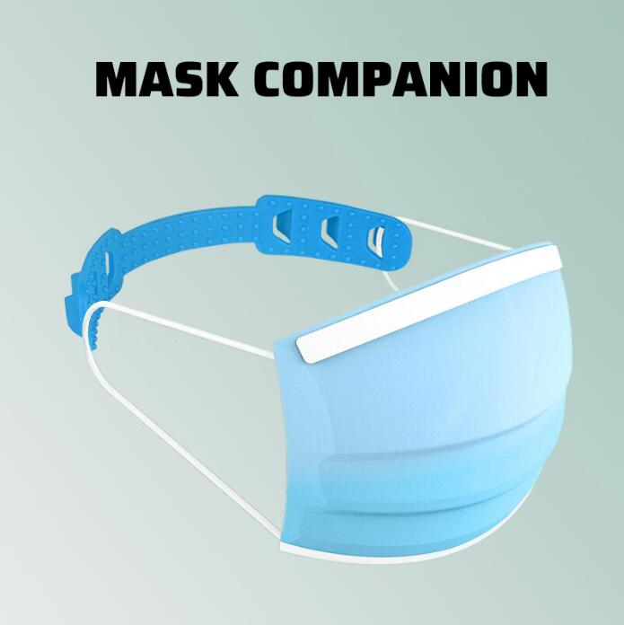 4Pcs Disposable Face Mask Ear Hooks Buckle Adjustable Earache Fixer Mask Ear Grip Extension Hook Masks Buckle Holder