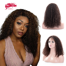 Curly Short Wig Lace Part Wig 18
