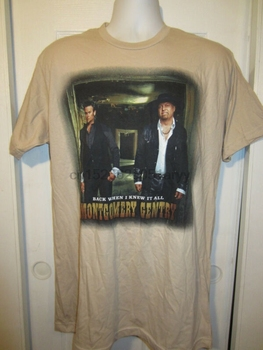 Hot Topic Montgomery Gentry Back When I Knew It All T-Shirt(1) image