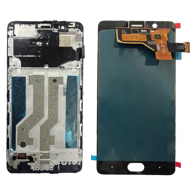 """5.5"""" LCD Display for ZTE Nubia M2 NX551J LCD Display Touch Screen Digitizer Panel Sensor Replacement Assembly with Frame"""