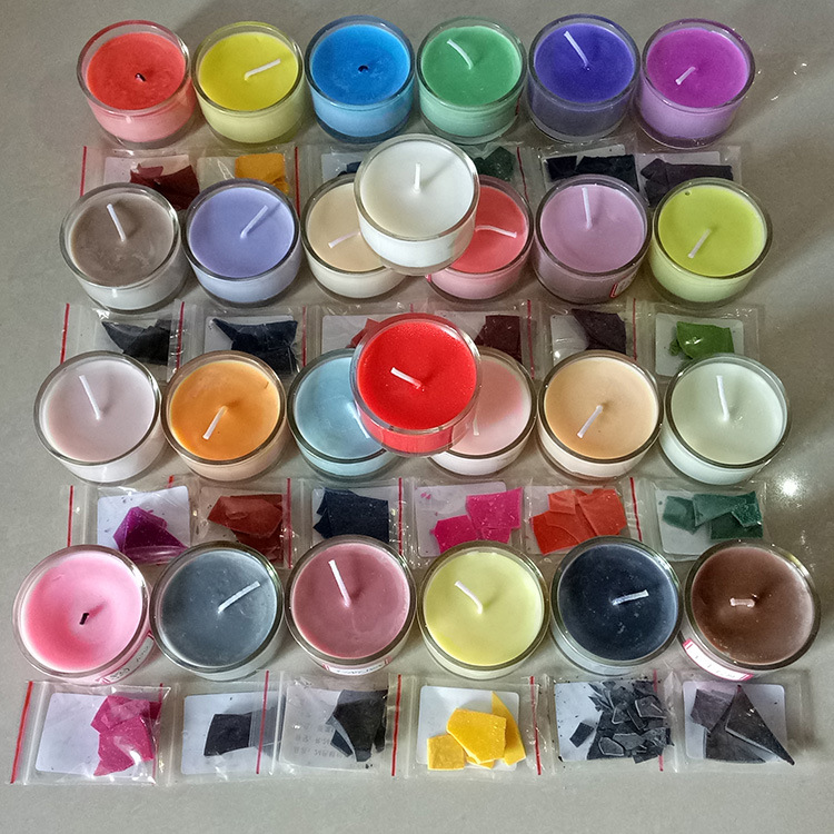 5g DIY Candle Dye Paints For 1KG Soy Wax Candle Oil Colour Coloring Dye Candle Making Candle Pigments Dye