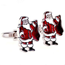 S123-35---- Men Design Cufflinks 1Pair Wholesale Retail Foshion Silver Cufflink Men Gift Party Jewelry Cuff Link(China)