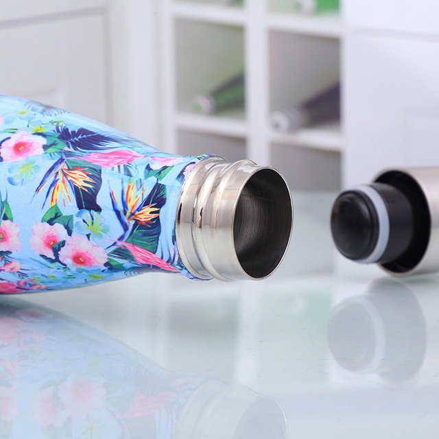 Reusable Water Bottle – Stainless Steel Insulated Flask