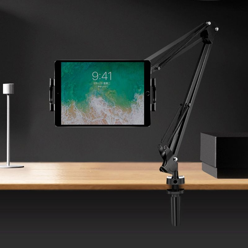 Mobile Phone Live Broadcast Tabletop Fixed Clip Tablet Bracket DIY Assembly Accessories Cellphone Support Desktop Clamp
