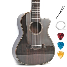 Tenor-Guitar Ukulele Light-Body Rosewood Acoustic Electric 4-Strings 26-Inches Concert