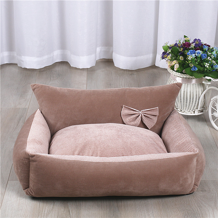 Dog Bed Warm Soft Pet Cushion For Dog Best Pet House Cat Calming Bed New Dog Bed Washable Pet Sofa Mat Dog sleeping bag 10