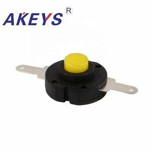 10 шт. YT-1413-YK ВКЛ и ВЫКЛ прямой желтый Головной фонарь переключатель