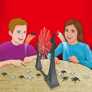 Funny Board Game Toys For Children Springing Spiders Game battle web