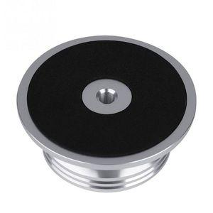 Image 4 - אלומיניום שיא משקל מהדק LP ויניל פטיפונים מתכת דיסק מייצב עבור רשומות נגן אביזרים