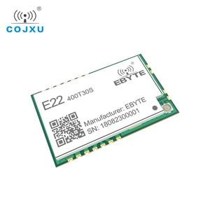 Image 5 - SX1268 LoRa TCXO 433MHz 30dBm E22 400T30S SMD UART Draadloze Transceiver IPEX Stempel Gat 1W Lange Afstand Zender en ontvanger