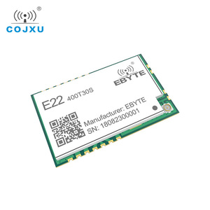 Image 5 - SX1268 LoRa TCXO 433MHz 30dBm E22 400T30S SMD UART Wireless Transceiver  IPEX Stamp Hole 1W Long Range Transmitter and Receiver