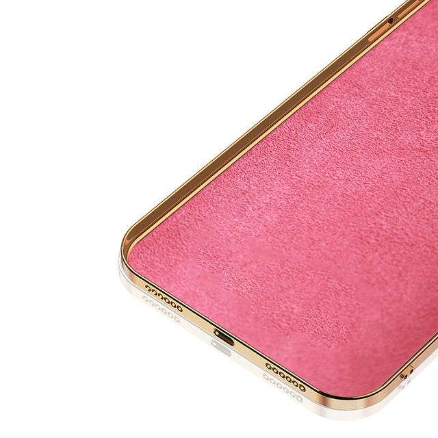 Original Silicone Cover For iPhone 12 12 Pro Max 11 Pro Max Case For iPhone 12 mini luxury Plating Phone Case for iphone11 Cover 4