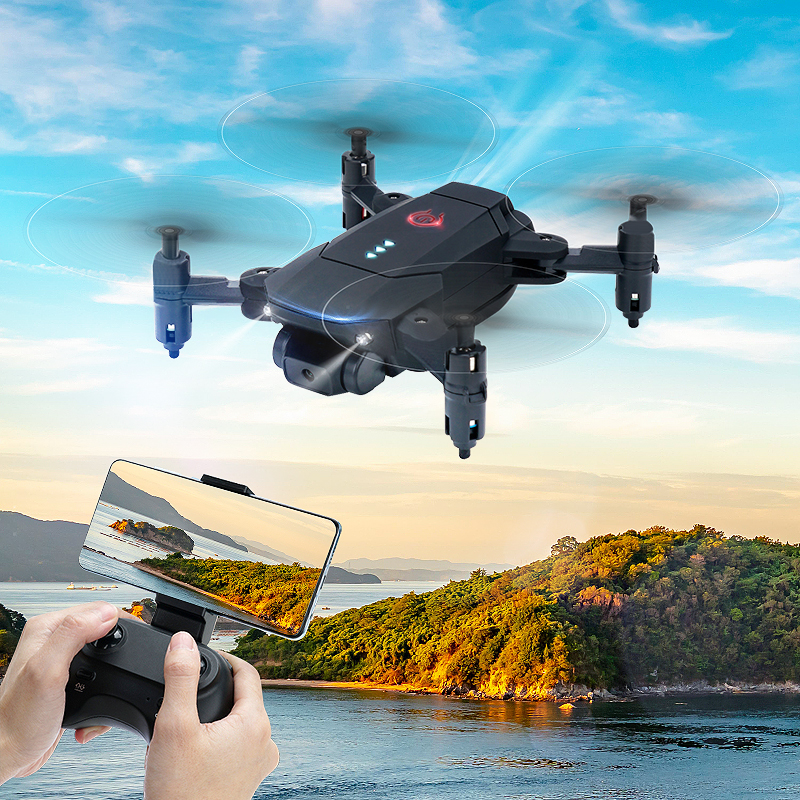 Eachine D83 RC Drone Mini Quadcopter Dron FPV With 2.4G Wifi HD Camera Altitude Hold Foldable Plane RTF Easy to Control Toys